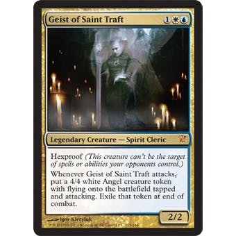 Magic the Gathering Innistrad Single Geist of Saint Traft FOIL - NEAR MINT (NM)