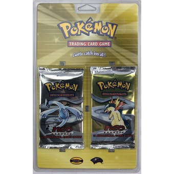 WOTC Pokemon Neo 1 Genesis 2-Booster Blister Pack