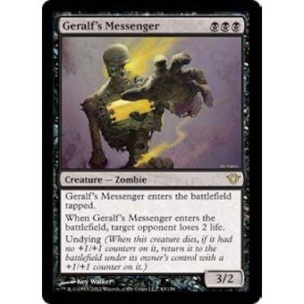 Magic the Gathering Dark Ascension Single Geralf's Messenger Foil