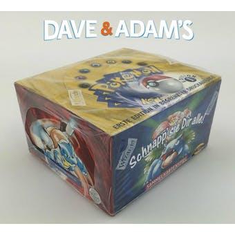 Pokemon Base Set 1 German 1st Edition Booster Box