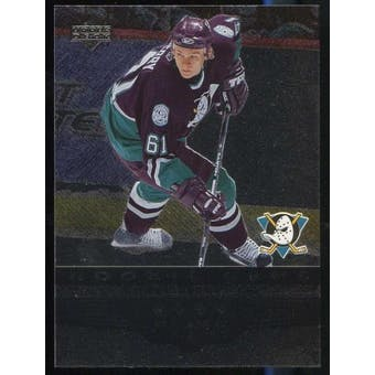 2005/06 Upper Deck Black Diamond #196 Corey Perry RC Rookie Card