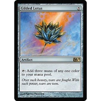 Magic the Gathering 2013 Single Gilded Lotus - NEAR MINT (NM)