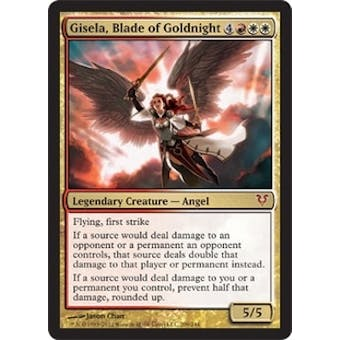 Magic the Gathering Avacyn Restored Single Gisela, Blade of Goldnight - NEAR MINT (NM)
