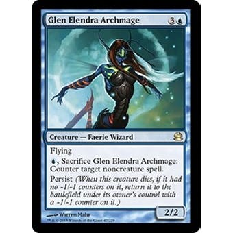 Magic the Gathering Modern Masters Single Glen Elendra Archmage Foil