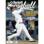 2020 Beckett Baseball Monthly Price Guide (#169 April) (Gleyber Torres)