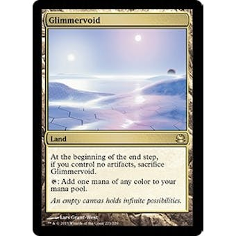 Magic the Gathering Modern Masters Single Glimmervoid FOIL - SLIGHT PLAY (SP) Sick Deal Pricing