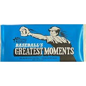 2020 Topps Heritage High Number Baseball Greatest Moments Topper Pack