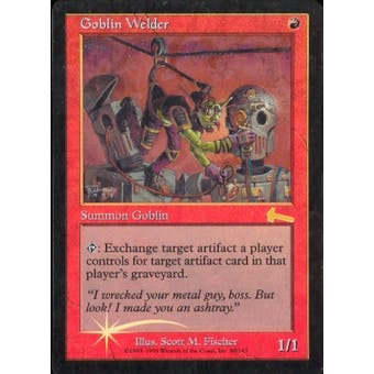 Magic the Gathering Urza's Legacy Single Goblin Welder FOIL - NEAR MINT