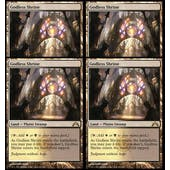 Magic the Gathering Gatecrash 4x PLAYSET Godless Shrine - NEAR MINT (NM)