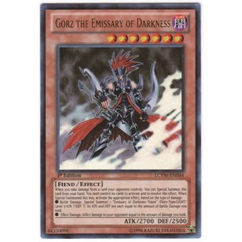 Yu-Gi-Oh Legendary Collection 3 Single Gorz the Emissary of Darkness Ultra Rare