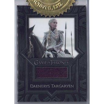 Game of Thrones The Complete Series Daenerys Targaryen Single Relic Card (Rittenhouse 2020)