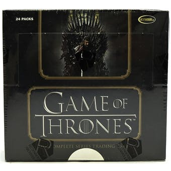 Game of Thrones The Complete Series Trading Cards Box (Rittenhouse 2020)