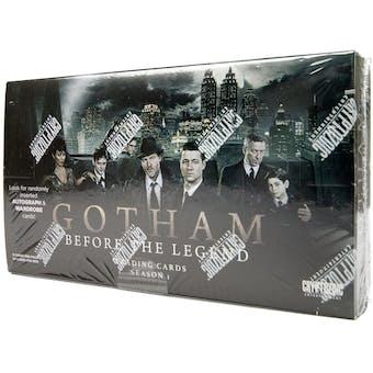 Gotham: Before the Legend Season 1 Trading Cards Box (Cryptozoic 2016)