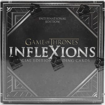 Game Of Thrones Inflexions Hobby International Box (Rittenhouse 2019)