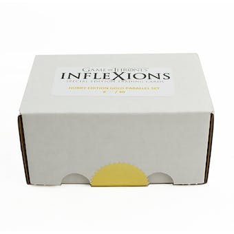 Game Of Thrones Inflexions Gold Platinum Edition Parallel Set (Only 40 Made!) (Rittenhouse 2019)