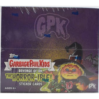Garbage Pail Kids Series 2 Revenge of Oh, The Horror-ible! Box (Topps 2019)