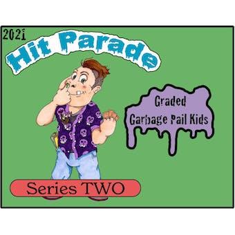 2021 Hit Parade Graded Garbage Pail Kids Hobby Box - Series 2 - ADAM BOMB PSA 8 & JOLTIN JOE PSA 10!
