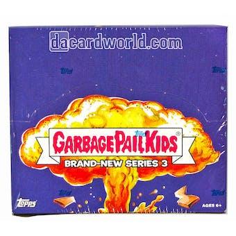 Garbage Pail Kids Brand New Series 3 Retail 24-Pack Box (Topps 2013)