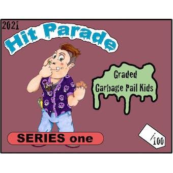 2021 Hit Parade Graded Garbage Pail Kids Hobby Box - Series 1 - Adam Bomb PSA 9 MINT!