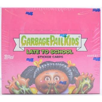 Garbage Pail Kids Series 1 Late To School Box (Topps 2020)