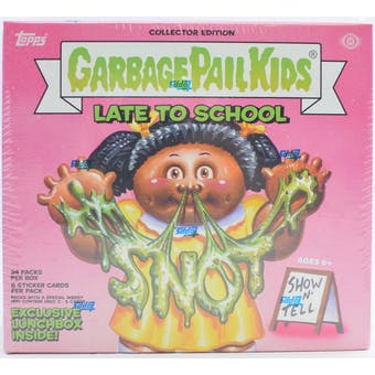 Garbage Pail Kids Series 1 Late To School Collectors Box (Topps 2020)