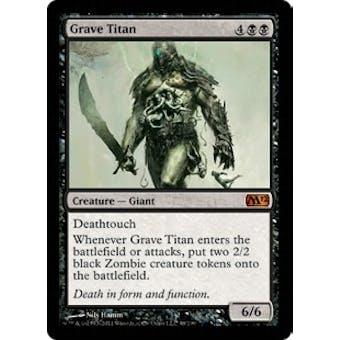Magic the Gathering 2012 Single Grave Titan - NEAR MINT (NM)