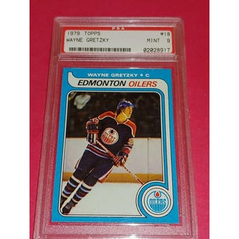 1979/80 Topps Wayne Gretzky PSA 9 card #18