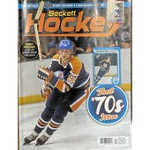 2021 Beckett Hockey Monthly Price Guide (#341 January) (Wayne Gretzky)