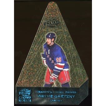 1999 Pacific Wayne Gretzky Cramer's Choice Award Die-Cut Card #1/10