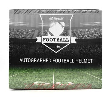 2021 Hit Parade Autographed FS Football Helmet 1ST ROUND EDITION Hobby Box - Series 4 - Allen & Manning!!