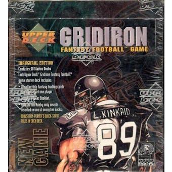 1995 Upper Deck Gridiron Fantasy Football Starter Box