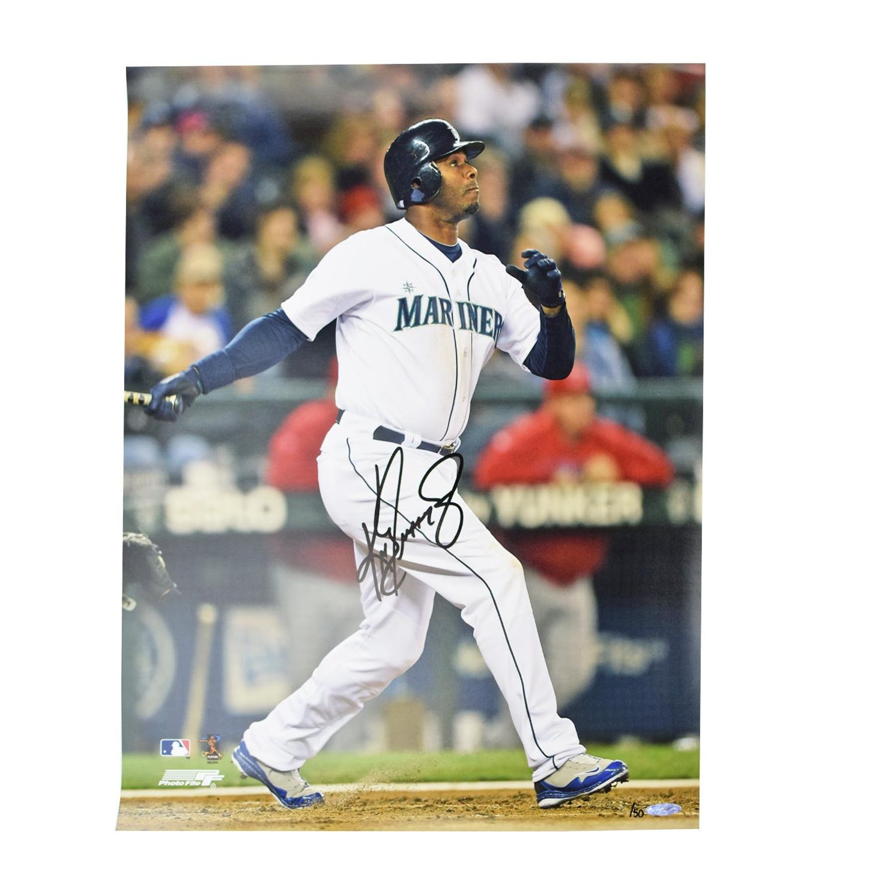 373a518a60 Ken Griffey Jr Seatlle Mariners UDA Autographed Home Run 16 x 20 Photo LE  /50 | DA Card World