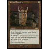 Magic the Gathering Urza's Legacy Single Grim Monolith - MODERATE PLAY (MP)