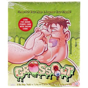 Upper Deck Gross Out Trading Cards Box