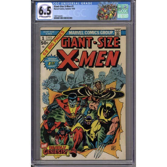 Giant-Size X-Men #1 CGC 6.5 (OW-W) *1997192005*