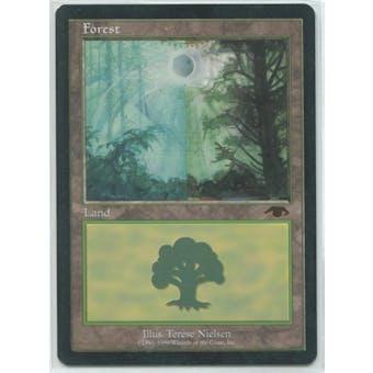 Magic the Gathering Promo Single GURU Forest - SLIGHT PLAY plus (SP+)