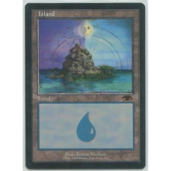 Magic the Gathering Promo Single GURU Island - NEAR MINT (NM)