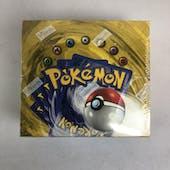 Pokemon Base Set 1 GREEN WING CHARIZARD Booster Box (EX-MT)