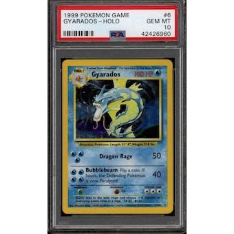 Pokemon Base Set Unlimited Gyarados 6/102 PSA 10 GEM MINT