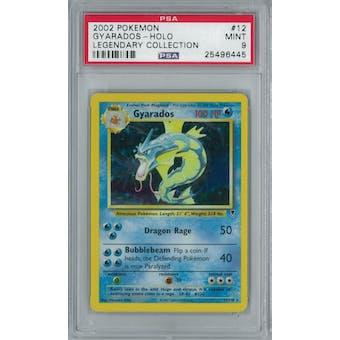 Pokemon Legendary Collection Gyarados 12/110 PSA 9