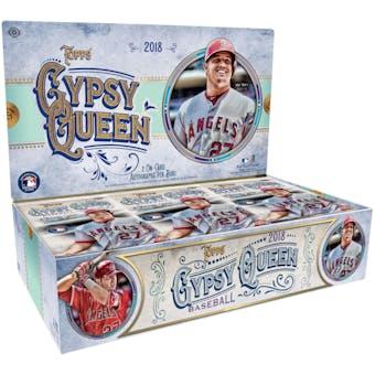 2018 Topps Gypsy Queen Baseball Hobby Box