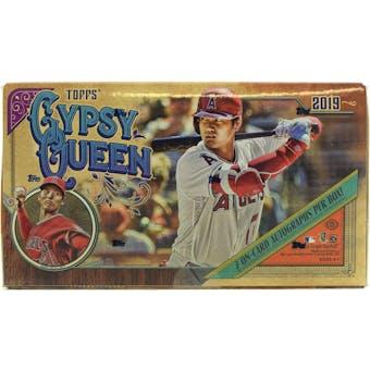 2019 Topps Gypsy Queen Baseball Hobby Box
