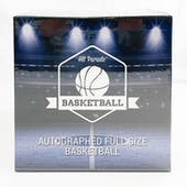 2020/21 Hit Parade Autographed Full Size Basketball Hobby Box - Series 3 - Luka, Morant, Curry & Harden!!!