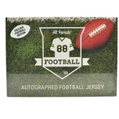 2021 Hit Parade Autographed College Football Jersey - Series 2 - 10-Box Hobby Case - T. Lawrence & Z. Wilson!!
