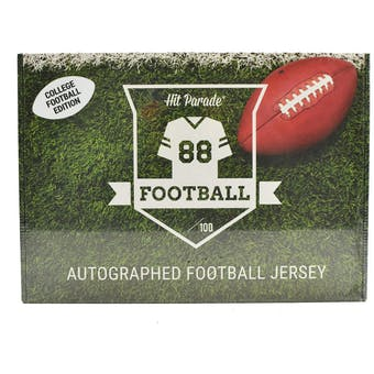 2020 Hit Parade Auto College Football Jersey 1-Box Series 3- DACW Live 8 Spot Random Division Break #4