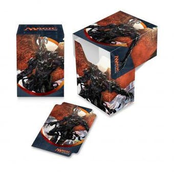 CLOSEOUT - ULTRA PRO HERALD OF ANGUISH DECK BOX - 60 COUNT CASE