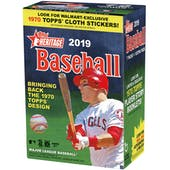 2019 Topps Heritage Baseball 8-Pack Blaster Box (Lot of 3)