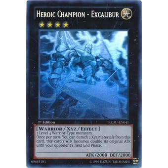 Yu-Gi-Oh Return of the Duelist 1st Ed. Single Heroic Champion - Excalibur Ghost Rare
