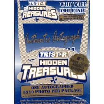2003 Tristar Hidden Treasures Series 1 Baseball Autographed 8x10s Box