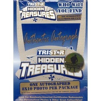 2003 Tristar Hidden Treasures Wrestling Box (Autographed 8x10s!)